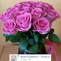 Sudý počet květin v kytici