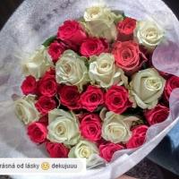 Kytice růží - zákazníci