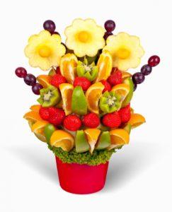 Kytice z ovoce